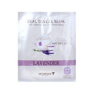 Skinfood - Real Tea Gel Mask (Lavender) 1 sheet