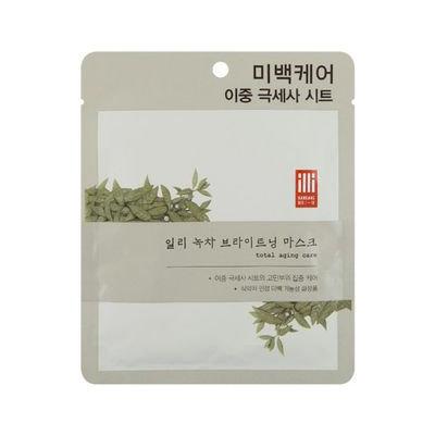 illi - Green Tea Brightening Mask 1 sheet