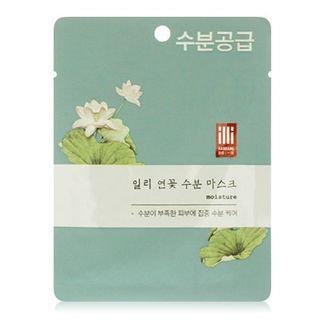 illi - Lotus Moisturizing Mask 1 sheet