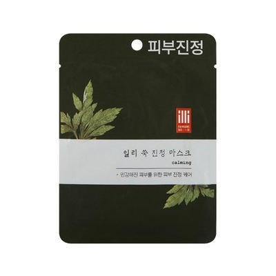 illi - Mugwort Calming Mask 1 sheet
