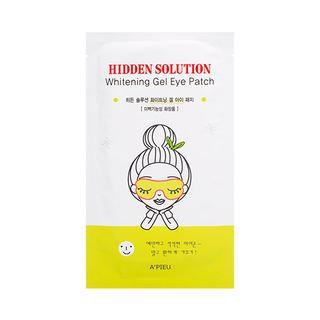 A'pieu APIEU - Hidden Solution Whitening Gel Eye Patch 1pc