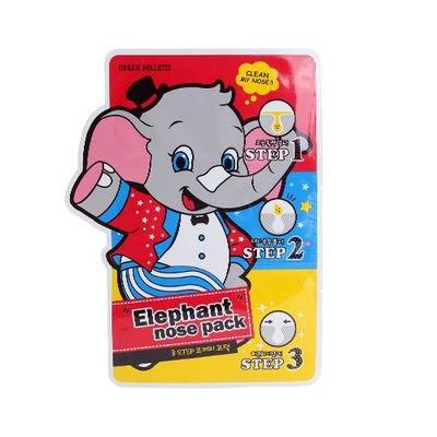 URBAN DOLLKISS - 3-Step Elephant Nose Pack Step 1: 3ml + Step 2: 1 sheet + Step3: 1 sheet