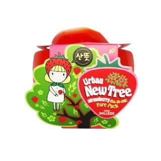 URBAN DOLLKISS - New Tree Strawberry All-In-One Pore Pack 100ml 100ml
