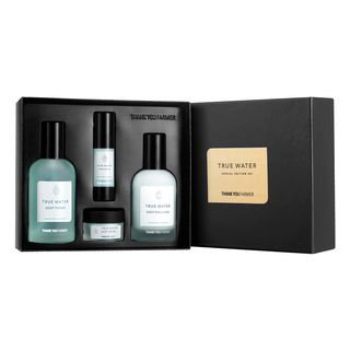 THANK YOU FARMER - True Water Special Edition: Toner 150ml + Emulsion 130ml + Deep Cream 15ml + Serum 15ml 4pcs