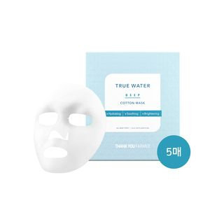 THANK YOU FARMER - True Water Deep Cotton Mask 5pcs 25ml x 5pcs
