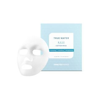 THANK YOU FARMER - True Water Deep Cotton Mask 1pc 25ml x 1pc