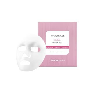 THANK YOU FARMER - Miracle Age Repair Cotton Mask 1pc 25ml x 1pc