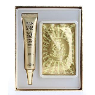 URBAN DOLLKISS - Agamemnon 24K Gold Eye Cream Special Kit: Eye Cream 40ml + Eye Patch 2pcs 3pcs