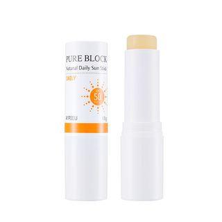 A'pieu APIEU - Pure Block Natural Daily Sun Stick SPF50 PA+++ 13g 13g