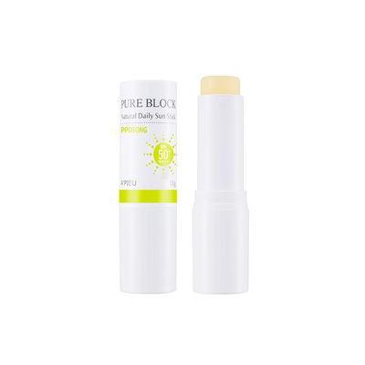 A'pieu APIEU - Pure Block Natural Daily Sun Stick Posong SPF50+ PA+++ 13g 13g