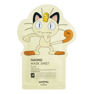 Tony Moly - Pokemon Naong Mask Sheet (Nutrition) 1pc 21g