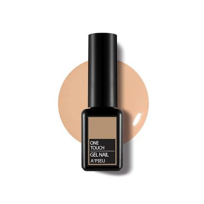A'pieu APIEU - One-Touch Gel Nail (#BE02 Cream Mocha) 6ml