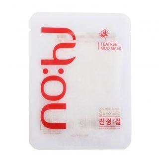 No:hj no: hj - Claming Texture Mask Pack Tea Tree 1pc 25g