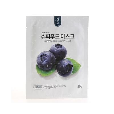 No:hj no: hj - Super Food Mask Pack Blueberry 1pc 25g