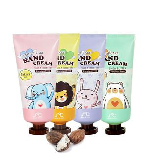 Rainbow Beauty - Shea Butter Hand Cream 80g Sakura