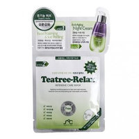 Rainbow Beauty - SOC 3Step Teatree-Relax Intensive Care Mask 1pc 1pc