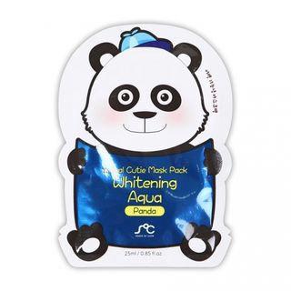Rainbow Beauty - SOC Animal Cuite Mask Pack Whitening Aqua (Panda) 1pc 1pc