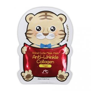 Rainbow Beauty - SOC Animal Cuite Mask Pack Anti-Wrinkle Collagen (Tiger) 1pc 1pc