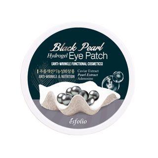 esfolio - Black Pearl Hydrogel Eye Patch 60pcs 60pcs (30 pairs)