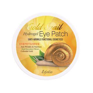 esfolio - Gold Snail Hydrogel Eye Patch 60pcs 60pcs (30 pairs)