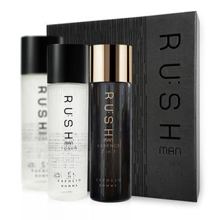esfolio - Rushman Skin Care Set: Toner 130ml x 2pcs + Essence 130ml 3pcs