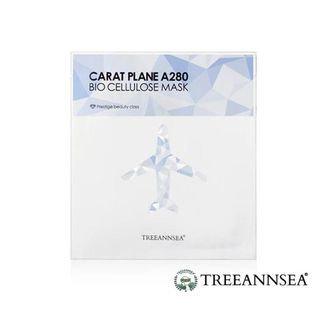 TREEANNSEA - Carat Plane A280 Bio Cellulose Mask 1pc 25ml
