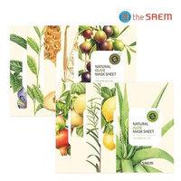 The Saem - Natural Mask Sheet 1pc (20 Flavors) Avocado
