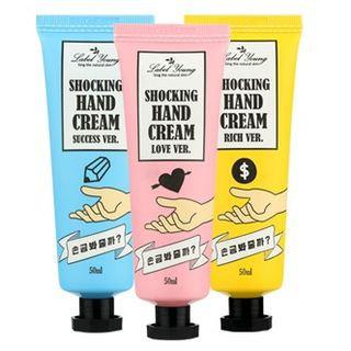 Label Young - Shocking Hand Cream 50ml Rich Version