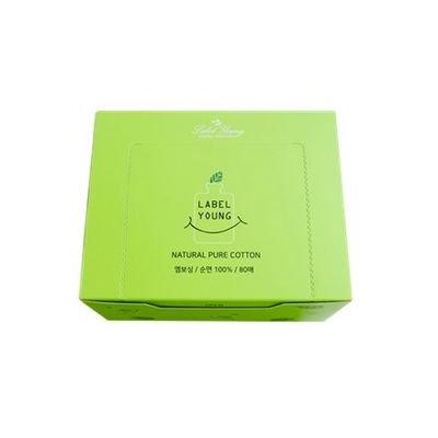 Label Young - Natural Pure Cotton 80pcs