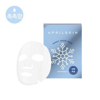 APRIL SKIN - Magic Snow Mask 10pcs 25g X 10