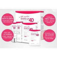 YUFIT - Shape-Up 4D V-Line Set: Belt + Pack (5 sheets) + Firming Cream 20g 3pcs