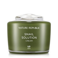 Nature Republic - Snail Solution Cream 55ml 55ml