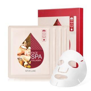 MAXCLINIC - Face Spa Collagen Firming Treatment Mask Pack 4pcs 18ml x 4pcs