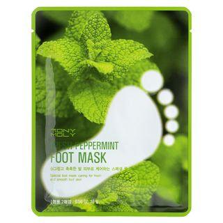 Tony Moly - Fresh Peppermint Foot Mask 10 pairs