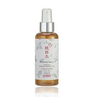 kb cosmetics - Soonbaekto Whitening Source Continuous Whitening And Moisture Toner 150ml 150ml
