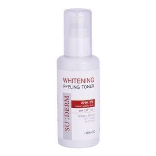 kb cosmetics - Whitening Peeling Toner Double Effect 100ml 100ml