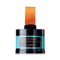 The Saem - Silk Hair Style Fix One Minute Shadow (#01 Black Brown) 4g