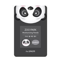 The Saem - Zoo Park Moisturizing Panda Mask Sheet 1pc 25ml