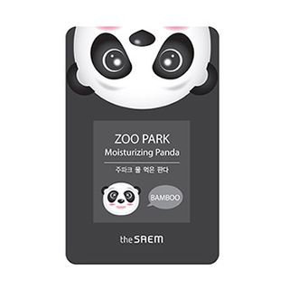 The Saem - Zoo Park Moisturizing Panda Mask Sheet 1pc 25ml