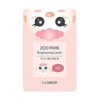 The Saem - Zoo Park Brightening Lamb Mask Sheet 1pc 25ml