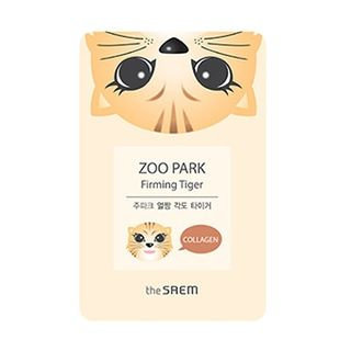 The Saem - Zoo Park Firming Tiger Mask Sheet 1pc 25ml