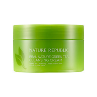 Nature Republic - Real Nature Green Tea Cleansing Cream 200ml 200ml