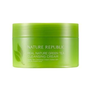 Nature Republic - Real Nature Green Tea Cleansing Cream 200ml 200ml