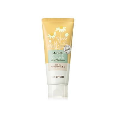 The Saem - St. Herb Micro Whip Foam (Chamomile)140ml 140ml