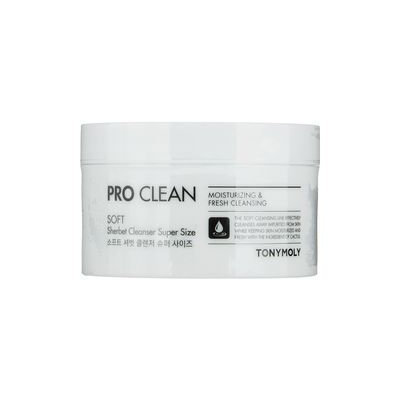 Tony Moly - Pro Clean Soft Sherbet Cleanser Super Size 150g 150g
