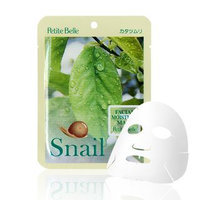 skin soul & beauty - Petite Belle Facial Moisture Mask (Snail) 1pc 25ml