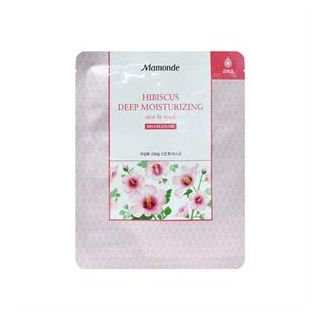 Mamonde Skin Fit Mask Hibiscus Deep Moisturizing