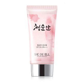 SHE DE ELL - Pure Face Sun Cream SPF50+ PA+++ 50ml 50ml