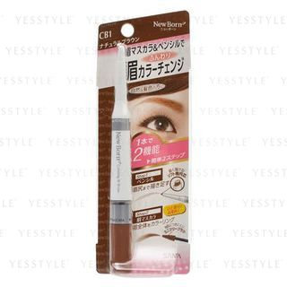 Sana New Born Eyebrow Mascara And Pencil CB1 (Natural Brown)