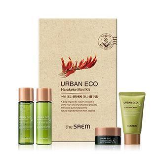 The Saem - Urban Eco Harakeke Mini Kit 30ml + 30ml + 25g + 13ml